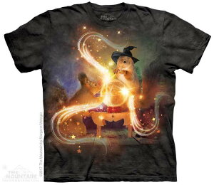 The Mountain Tシャツ Magic Squirrels T-Shirt リス 栗鼠 (メンズ 男性用 男女兼用) S-2L【輸入品】半袖 マウンテン 動物 アニマル