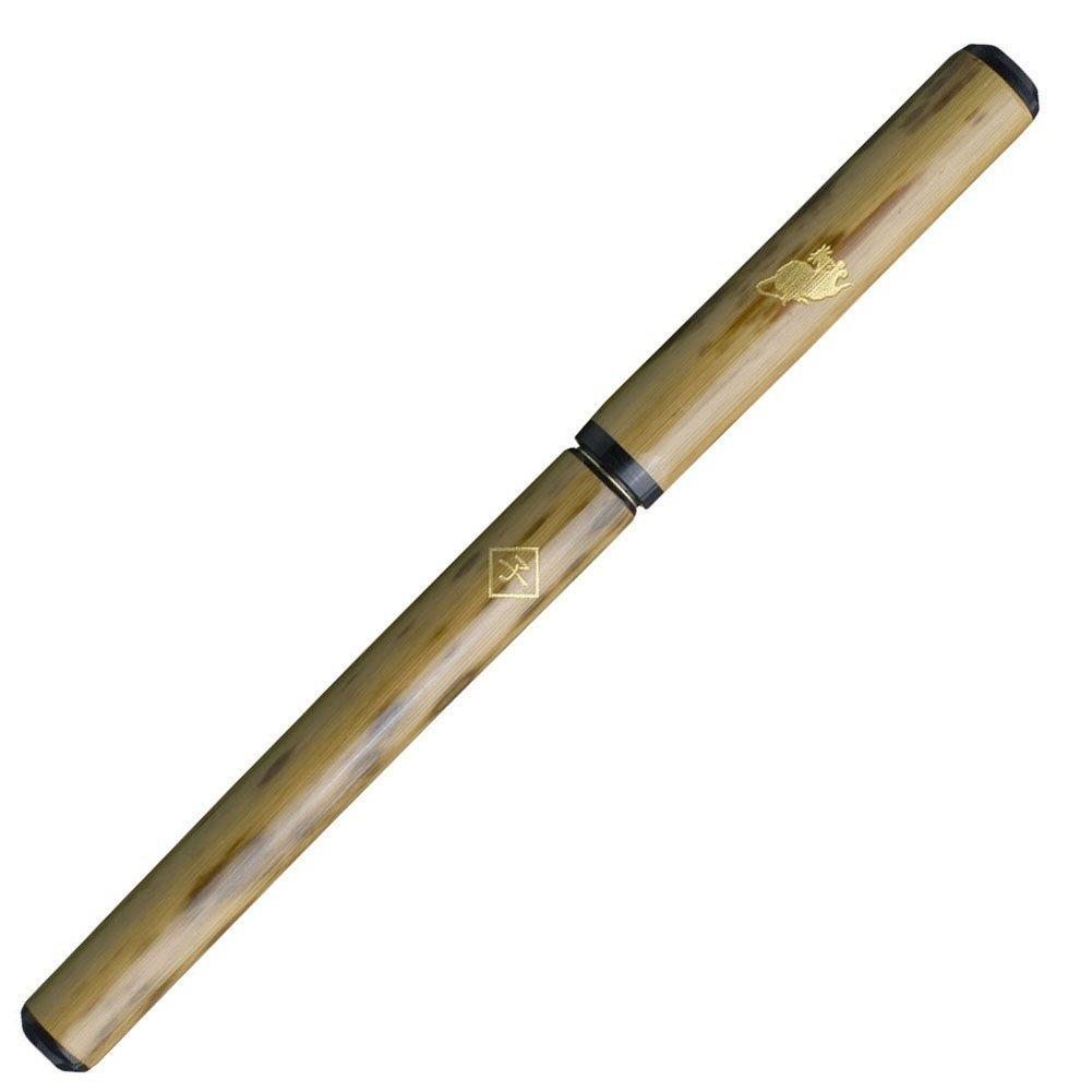 あかしや 筆ペン 天然竹筆ペン 桐箱ケース 子 AK3200MK-1