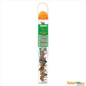 【安心保障付き】サファリ(safari )ワイルド チューブ やせいどうぶつ 野生動物 695004 フィギュア おもちゃ セット 子供 男 グッズ 誕生日 誕生日プレゼント 2020