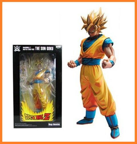 【海外限定品】ドラゴンボールZ MASTER STARS PIECE The Son Goku 孫悟空 フィギュア 2D アニメ色
