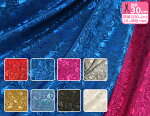 【ジャガード織り】ローズジャガード/バラの花(バランドロン)全8色/生地巾約112cm・ポリエステル100%【衣装・生地・布】