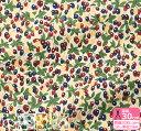 【リバティプリント】Berry Bouquet/ベリー・ブーケ(DC31039 J20A J20B J20C J20D)LIBERTY 2020AW Berry Christmas…