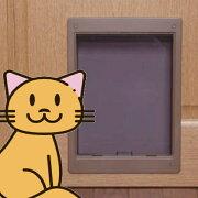 わんにゃんドアペットの出入り口ペットドア犬猫用入口
