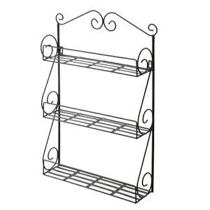 アイアン3段ラック DIY   キッチンラック 小物収納 飾り棚 ガーデンラック