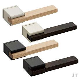 カワジュン製レバーハンドル JT 角座 KAWAJUN 空錠・表示錠・間仕切錠外れたドアノブレバー交換修理はDIYで簡単。握り玉からドアレバーに取替えて楽に開閉。トイレ用の錠付きドアグリップやかっこいいシンプルでモダンな取っ手に取り替え
