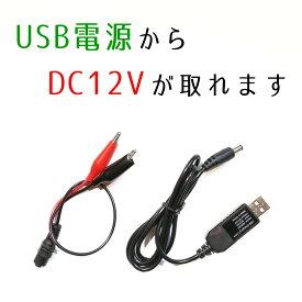 USBから自動車用12Vを出力 DC-DCコンバーター デコデコ USB 5V 12V 昇圧 変圧 変換 メモリーバックアップ メモリー保護 100V 1A 12W 家庭用 家 自宅 DIY 車 自動車 加工 改造 自作 検品 コンパクト 小型 電源 DCDC コンバータ