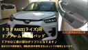 トヨタRAIZE(ライズ)用ドアアームレストパッドフロント左右セットハイグレード版(SUEDE調仕様:黒のみ)ダイハツ ロッキーにも装着で…