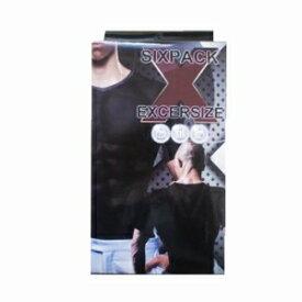 ※2個までゆうパケット送料200円※ 『シックスパック エクササイズ L ( 男性用 加圧 ウェア) 【SIXPACK EXCERSIZE 】』