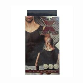 ※2個までゆうパケット送料200円※ 『シックスパック エクササイズ ノースリーブ M / L ( 男性用 加圧 ウェア) 【SIXPACK EXCERSIZE 】』