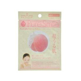 ※12個までゆうパケット送料200円※ 『エッセンス マスク ミルク シリーズ ピーチミルク ( Peach Milk ) 【1枚入】 ( Essence Mask Milk Series ) 【Pure Smile (ピュア スマイル)】』