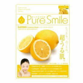 ※12個までゆうパケット送料200円※ 『エッセンス マスク 化粧水 タイプ レモン ( Lemon ) 【1枚入】 ( Essence Mask Series for lotion type ) 【Pure Smile (ピュア スマイル)】』