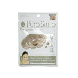 ※12個までゆうパケット送料200円※ 『エッセンス マスク 化粧水 タイプ 真珠 ( Pearl ) 【1枚入】 ( Essence Mask Series for lotion type ) 【Pure Smile (ピュア スマイル)】』