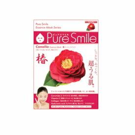 ※12個までゆうパケット送料200円※ 『エッセンス マスク 化粧水 タイプ 椿 ( Camelia ) 【1枚入】 ( Essence Mask Series for lotion type ) 【Pure Smile (ピュア スマイル)】』