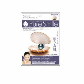 ※12個までゆうパケット送料200円※ 『エッセンス マスク 化粧水 タイプ 黒真珠 ( Black Pearl ) 【1枚入】 ( Essence Mask Series for lotion type ) 【Pure Smile (ピュア スマイル)】』