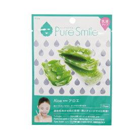 ※12個までゆうパケット送料200円※ 『エッセンス マスク 乳液 タイプ アロエ ( Aloe ) 【1枚入】 ( Essence Mask Series for milky lotion ) 【Pure Smile (ピュア スマイル)】』