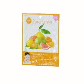 ※12個までゆうパケット送料200円※ 『エッセンス マスク 乳液 タイプ ビタミン ( Vitamin ) 【1枚入】 ( Essence Mask Series for milky lotion ) 【Pure Smile (ピュア スマイル)】』