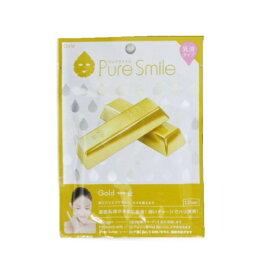 ※12個までゆうパケット送料200円※ 『エッセンス マスク 乳液 タイプ 金 ( Gold ) 【1枚入】 ( Essence Mask Series for milky lotion ) 【Pure Smile (ピュア スマイル)】』