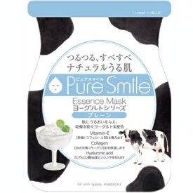 ※12個までゆうパケット送料200円※ 『エッセンス マスク ヨーグルト シリーズ プレーン ( Plain ) 【1枚入】 ( Essence Mask Yogurt Series ) 【Pure Smile (ピュア スマイル)】』