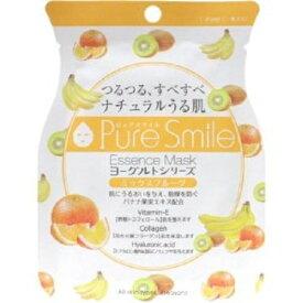 ※12個までゆうパケット送料200円※ 『エッセンス マスク ヨーグルト シリーズ ミックスフルーツ ( Mix Fruits ) 【1枚入】 ( Essence Mask Yogurt Series ) 【Pure Smile (ピュア スマイル)】』