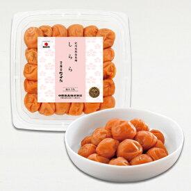 【WEB限定】中田食品 紀州産南高梅 しらら Mサイズ 300g 塩分5%《数量300個限定》