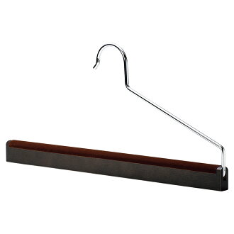 Wooden Trouser Hanger / Smoked Brown / AUT-11
