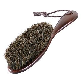 洋服ブラシ/馬毛/Clothes Brush Horse Hair/マーズブラウン【国産木製ハンガー/中田工芸製/中田ハンガー】