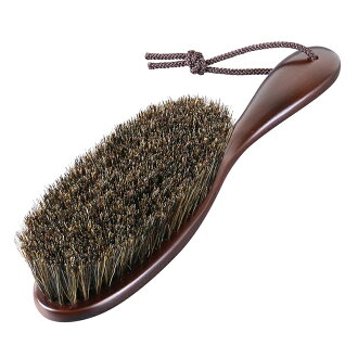 Clothes Brush Horse Hair/ Mars brown