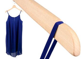 レディスシャツ用木製ハンガーSET-04