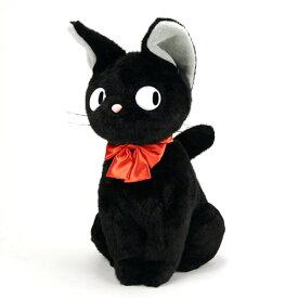 """スタジオジブリ(STUDIO GHIBLI)魔女の宅急便ジジ座LL!♪ スタジオジブリのゆかいな仲間たち!♪『""""黒猫のジジ""""の大きなぬいぐるみです!♪』"""