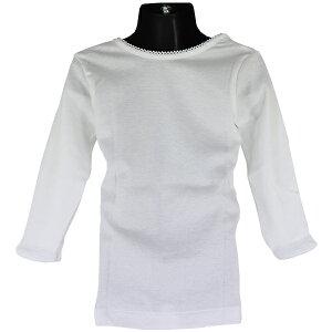 グンゼ子供肌着GUNZE100-160cm2枚組女児9分袖シャツあったか厚地抗菌防臭部屋干し対応やわらか綿100%