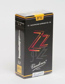 ソプラノサックスリード バンドレン(バンドーレン)ZZ Vandoren [ZZ] Jazz 【追跡メール便 2箱までOK】【管楽器専門店】