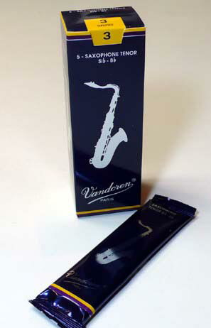 VandorenTraditional(BlueBox)バンドレンテナーサックスリード