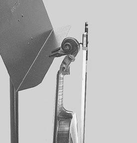 MANHASSET マンハセット LED バイオリン/ビオラホルダー M1300 【お取り寄せ商品】