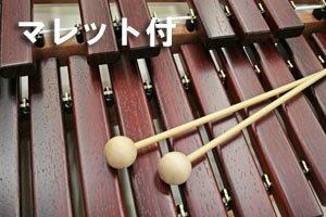 NAKAZENオリジナルセットでダ断然お得!!木琴のNo.1ブランドこおろぎ社卓上木琴ECO32(マレット+ソフトケースのオリジナルセットです。)