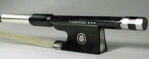 カーボン弓CARBONDIX***カーボンファイバー製バイオリン用60.0〜61.0g前後今なら弓ケースプレゼント!