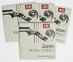 SUZUKIバイオリン弦セット青ラベルVn4/41e〜4g
