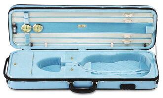 Violin case LANG (Lang) CK-99 sky blue / baby blue