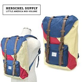 【クーポン利用で最大1,000円OFF】 Herschel Supply(ハーシェル サプライ) Little America Mid-Volume リュック バックパック バッグ Studio Collection 【あす楽対応】【RCP】