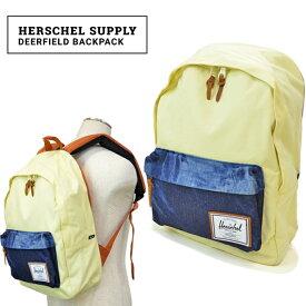 【クーポン利用で最大1,000円OFF】 Herschel Supply(ハーシェル サプライ) Deerfield BackPack リュック バックパック バッグ BAD HILLS WORK SHOP COLLECTION 【あす楽対応】【RCP】