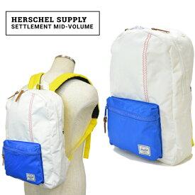 【クーポン利用で最大1,000円OFF】 Herschel Supply(ハーシェル サプライ) Settlement Mid-Volume リュック バックパック バッグ Studio Collection 【あす楽対応】【RCP】