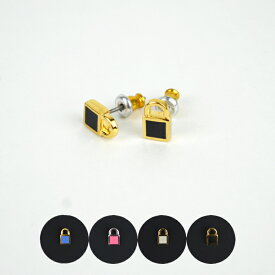 【割引クーポン配布中】 MARC BY MARC JACOBS(マーク バイ マーク ジェイコブス) Lock-In Padlock Stud Earrings スタッズ ピアス レディース 【単品購入の場合はネコポス便発送】