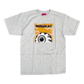 【クーポン利用で最大1,000円OFF】 MISHKA ミシカ KEEP WATCH CAMO BOX LOGO TEE Tシャツ 半袖 【単品購入の場合はネコポス便発送】【サマーバーゲン】