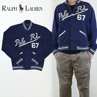 Sweatshirts baseball jacket fleece jacket, POLO Ralph Lauren Polo Ralph Lauren Fleece Baseball Jacket