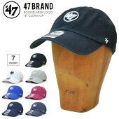 【割引クーポン配布中】47BRAND(フォーティーセブンブランド)キャップROUNDMINILOGO47CLEANUPCAPクリーンナップキャップ帽子ストラップバックキャップ【あす楽対応】【RCP】