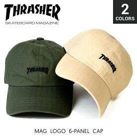 THRASHER (スラッシャー) MAG LOGO 6-PANEL CAP キャップ STRAPBACK CAP 6パネルキャップ ストラップバックキャップ 帽子 メンズ レディース ユニセックス ストリート スケート 【あす楽対応】【RCP】