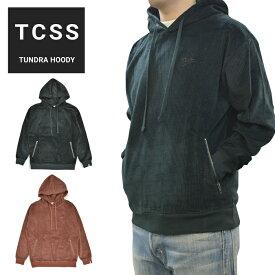 【割引クーポン配布中】 TCSS (ティーシーエスエス) パーカー TUNDRA HOODY スウェット フリース 長袖 メンズ S-XL グリーン レッド FC1865 【あす楽対応】【RCP】