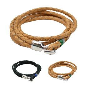 【割引クーポン配布中】 MIANSAI ミアンサイ TRICE SILVER Bracelet ダブルラップ ブレスレット 【あす楽対応】【RCP】