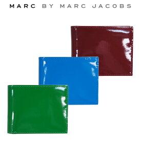 【割引クーポン配布中】 【正規品】MARC BY MARC JACOBS マーク バイ マークジェイコブス Patent Pending Billfold 財布 サイフ【単品購入の場合はネコポス便発送】