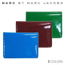【割引クーポン配布中】 【正規品】MARC BY MARC JACOBS マーク バイ マークジェイコブス Patent Pending Wallet カードケース パスケース【単品購入の場合はネコポス便発送】