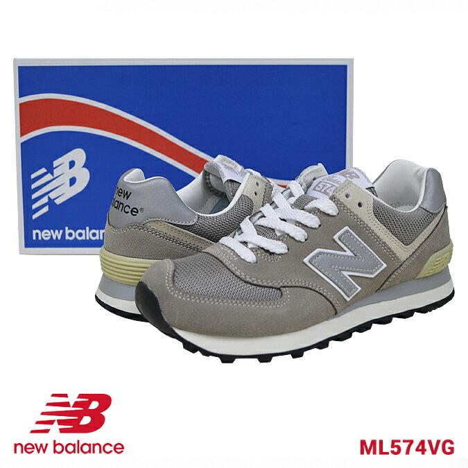 【クーポン利用で最大1,000円OFF】 NEW BALANCE ニューバランス レディース ML574 VG スニーカー 靴 アメカジ シューズ 【あす楽対応】【RCP】